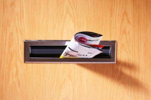 Utskick i brevlåda