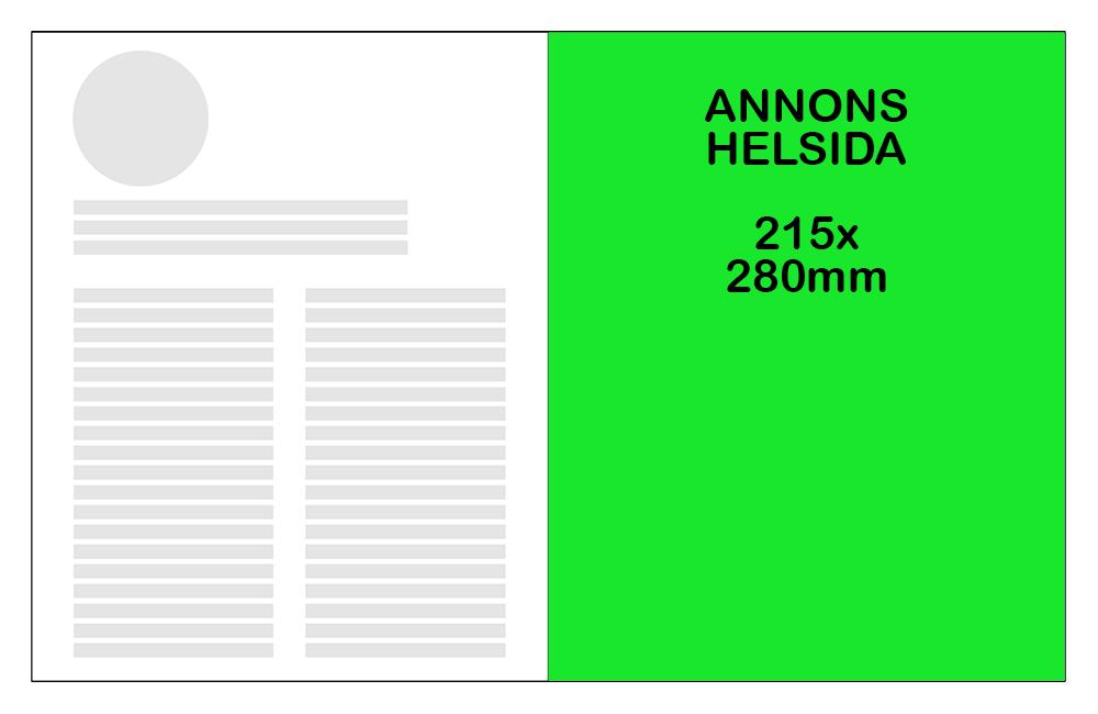 Helsida -  4 kr/mottagare